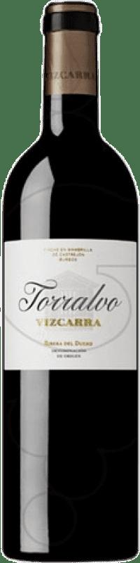 47,95 € Free Shipping | Red wine Vizcarra Torralvo Crianza D.O. Ribera del Duero Castilla y León Spain Tempranillo Magnum Bottle 1,5 L