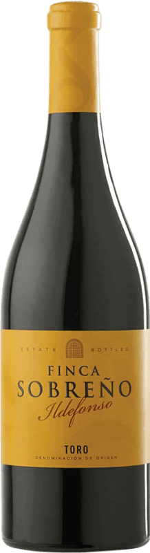 18,95 € Free Shipping | Red wine Finca Sobreño Ildefonso Crianza D.O. Toro Castilla y León Spain Tempranillo Bottle 75 cl