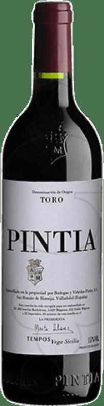 347,95 € Free Shipping | Red wine Pintia D.O. Toro Castilla y León Spain Tempranillo Jéroboam Bottle-Double Magnum 3 L