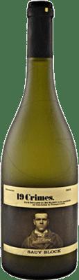 7,95 € Envoi gratuit | Vin blanc 19 Crimes Sauvignon Block Joven I.G. Southern Australia Australie méridionale Australie Sauvignon Blanc Bouteille 75 cl
