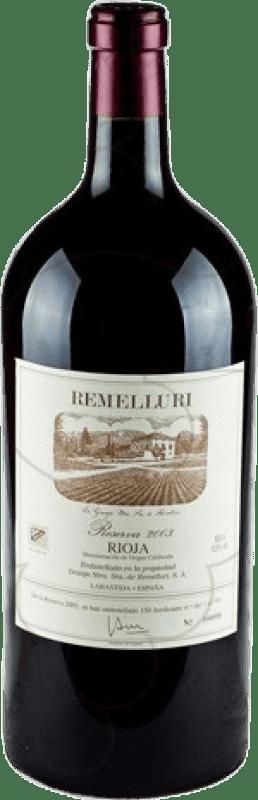 362,95 € Free Shipping | Red wine Ntra. Sra de Remelluri Reserva 2009 D.O.Ca. Rioja The Rioja Spain Tempranillo, Grenache, Graciano Special Bottle 5 L