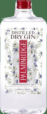 9,95 € Free Shipping   Gin Antonio Nadal Palmbridge Spain Petaca 1 L