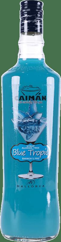 5,95 € Envoi gratuit | Schnapp Antonio Nadal Caimán jarabe Blue Tropic sin alcohol Espagne Bouteille Missile 1 L