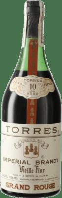 15,95 € Envío gratis | Brandy Torres 10 V.S.O.P. Very Superior Old Pale D.O. Penedès Cataluña España Botella 72 cl