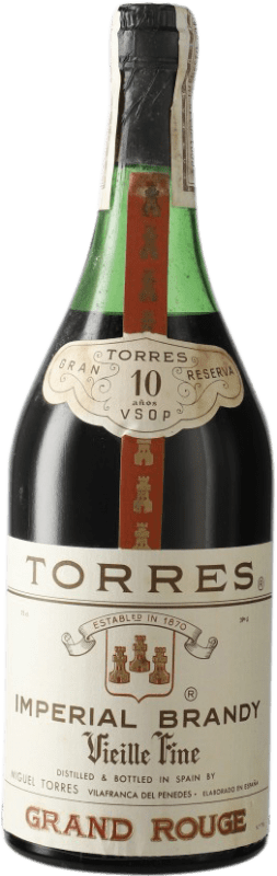 16,95 € Free Shipping | Brandy Torres 10 V.S.O.P. Very Superior Old Pale D.O. Penedès Catalonia Spain Bottle 72 cl
