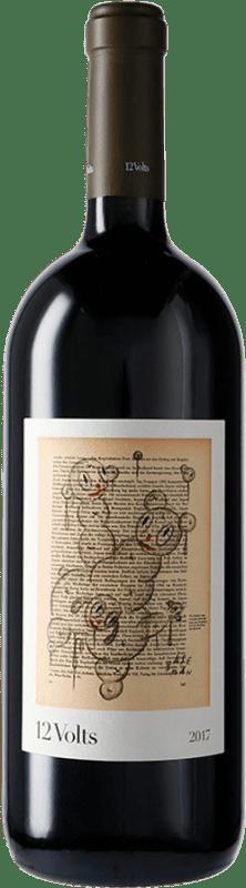 43,95 € Free Shipping | Red wine 4 Kilos 12 Volts I.G.P. Vi de la Terra de Mallorca Majorca Spain Merlot, Syrah, Cabernet Sauvignon, Callet, Fogoneu Magnum Bottle 1,5 L