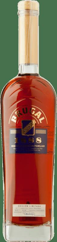 31,95 € Free Shipping | Rum Brugal 1888 Familiar Gran Reserva Dominican Republic Bottle 70 cl