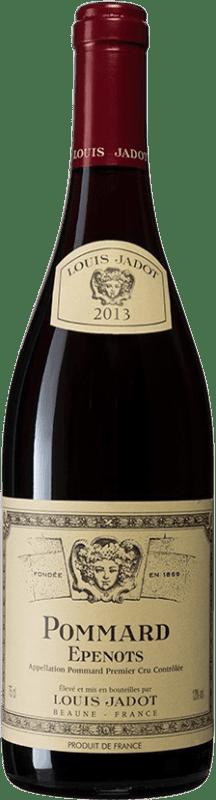 71,95 € Free Shipping | Red wine Louis Jadot 1er Cru Epenots A.O.C. Pommard Burgundy France Bottle 75 cl
