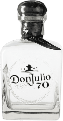 79,95 € Free Shipping | Tequila Don Julio 70 Cristalino Añejo Jalisco Mexico Bottle 70 cl