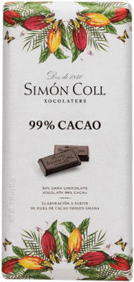 2,95 € Envoi gratuit | Chocolates y Bombones Simón Coll 99% Cacao Espagne