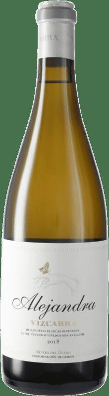 21,95 € Free Shipping | White wine Vizcarra Alejandra D.O. Ribera del Duero Castilla y León Spain Bottle 75 cl