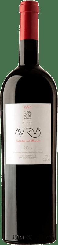 791,95 € Envío gratis | Vino tinto Allende Aurus 1996 D.O.Ca. Rioja España Tempranillo, Graciano Botella Especial 5 L