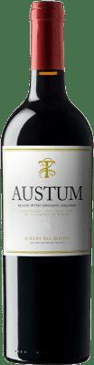 9,95 € Free Shipping | Red wine Tionio Austum Ecològic D.O. Ribera del Duero Castilla y León Spain Tempranillo Bottle 75 cl