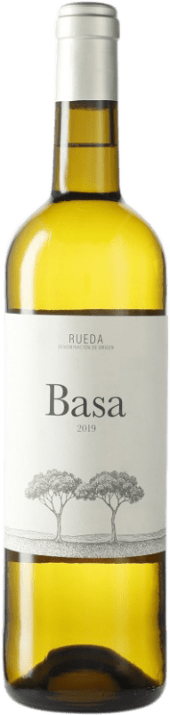 7,95 € Free Shipping | White wine Telmo Rodríguez Basa D.O. Rueda Castilla y León Spain Verdejo Bottle 75 cl