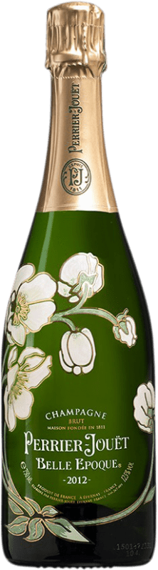 179,95 € Free Shipping | White sparkling Perrier-Jouët Belle Époque A.O.C. Champagne Champagne France Pinot Black, Chardonnay, Pinot Meunier Bottle 75 cl