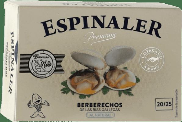 16,95 € Kostenloser Versand | Conservas de Marisco Espinaler Berberechos Premium Spanien 20/25 Stücke