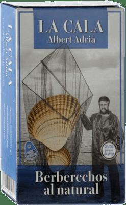 25,95 € Envío gratis | Conservas de Marisco La Cala Berberechos España 20/30 Piezas