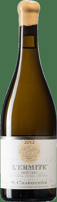 721,95 € Free Shipping | White wine Chapoutier Blanc L'Ermite A.O.C. Hermitage France Marsanne Bottle 75 cl