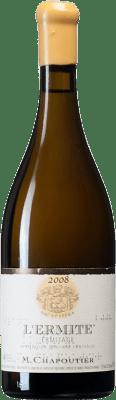 495,95 € Free Shipping | White wine Chapoutier Blanc L'Ermite 2008 A.O.C. Hermitage France Marsanne Bottle 75 cl
