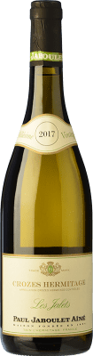 18,95 € Envío gratis | Vino blanco Jaboulet Aîné Blanc Les Jalets A.O.C. Crozes-Hermitage Francia Marsanne Botella 75 cl