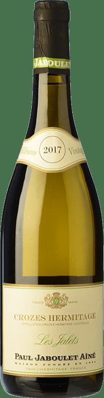 25,95 € Free Shipping | White wine Jaboulet Aîné Blanc Les Jalets A.O.C. Crozes-Hermitage France Marsanne Bottle 75 cl
