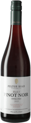 104,95 € Free Shipping | Red wine Felton Road Block 3 I.G. Central Otago Central Otago New Zealand Pinot Black Bottle 75 cl