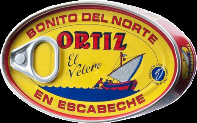 3,95 € Kostenloser Versand | Conservas de Pescado Ortíz Bonito en Escabeche Spanien