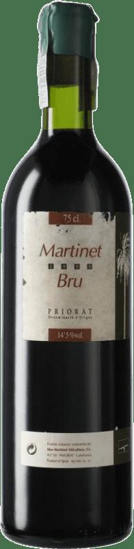 53,95 € Free Shipping | Red wine Mas Martinet Bru 1999 D.O.Ca. Priorat Catalonia Spain Syrah, Grenache Bottle 75 cl