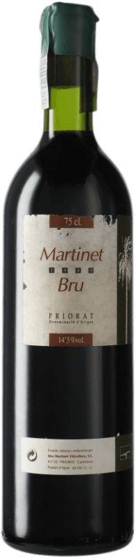 53,95 € Envoi gratuit | Vin rouge Mas Martinet Bru 1999 D.O.Ca. Priorat Catalogne Espagne Syrah, Grenache Bouteille 75 cl