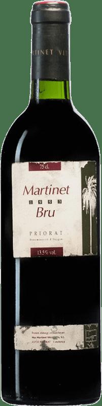 73,95 € Free Shipping | Red wine Mas Martinet Bru 1993 D.O.Ca. Priorat Catalonia Spain Syrah, Grenache Bottle 75 cl
