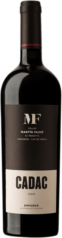 26,95 € Free Shipping | Red wine Martín Faixó Cadac D.O. Empordà Catalonia Spain Grenache, Cabernet Sauvignon Bottle 75 cl