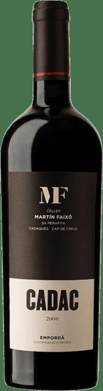 26,95 € Envío gratis | Vino tinto Martín Faixó Cadac D.O. Empordà Cataluña España Garnacha, Cabernet Sauvignon Botella 75 cl