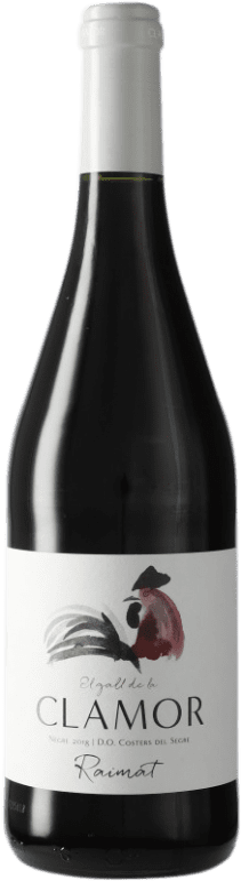 4,95 € Envoi gratuit | Vin rouge Raimat Clamor Roble D.O. Costers del Segre Espagne Tempranillo, Merlot, Cabernet Sauvignon Bouteille 75 cl