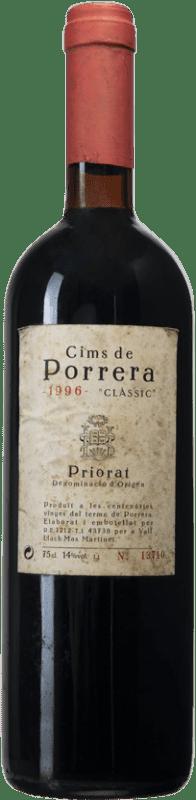 153,95 € Free Shipping | Red wine Cims de Porrera Clàssic 1996 D.O.Ca. Priorat Catalonia Spain Grenache, Cabernet Sauvignon, Carignan Bottle 75 cl