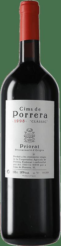 211,95 € Envío gratis | Vino tinto Cims de Porrera Clàssic 1998 D.O.Ca. Priorat Cataluña España Garnacha, Cabernet Sauvignon, Cariñena Botella Mágnum 1,5 L