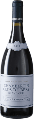 318,95 € Free Shipping | Red wine Bruno Clair Clos de Bèze Grand Cru A.O.C. Chambertin Burgundy France Pinot Black Bottle 75 cl