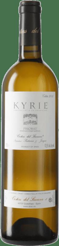 79,95 € Envío gratis | Vino blanco Costers del Siurana Clos de L'Obac Kyrie D.O.Ca. Priorat Cataluña España Botella 75 cl