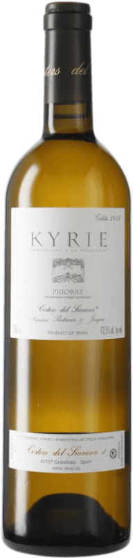79,95 € Free Shipping | White wine Costers del Siurana Clos de L'Obac Kyrie D.O.Ca. Priorat Catalonia Spain Bottle 75 cl