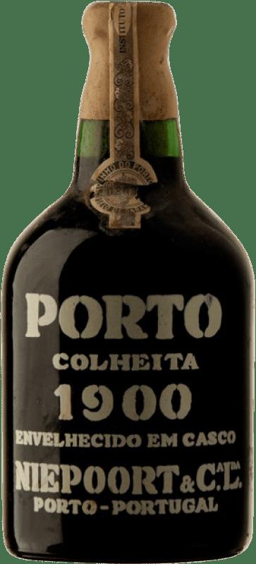 1 976,95 € Envío gratis | Vino tinto Niepoort Colheita 1900 I.G. Porto Porto Portugal Touriga Franca, Touriga Nacional, Tinta Roriz Botella 75 cl