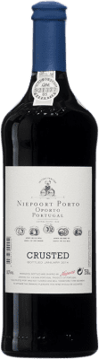 29,95 € Free Shipping | Red wine Niepoort Crusted I.G. Porto Porto Portugal Touriga Franca, Touriga Nacional, Tinta Roriz Bottle 75 cl
