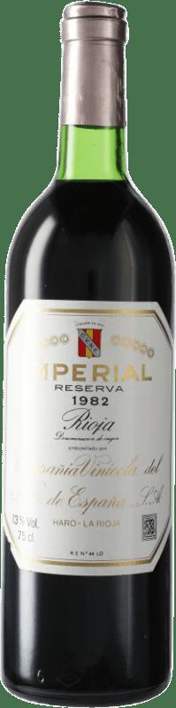134,95 € Free Shipping | Red wine Norte de España - CVNE Cune Imperial Reserva 1982 D.O.Ca. Rioja Spain Bottle 75 cl