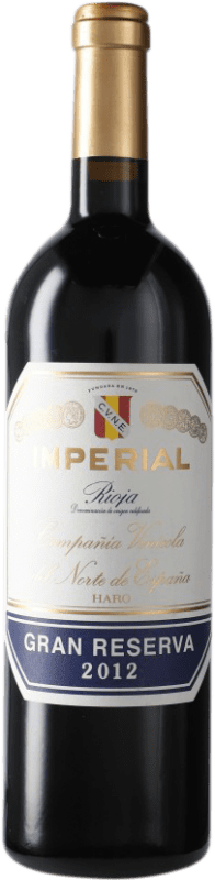 42,95 € Envoi gratuit   Vin rouge Norte de España - CVNE Cune Imperial Gran Reserva D.O.Ca. Rioja Espagne Tempranillo, Graciano, Mazuelo Bouteille 75 cl