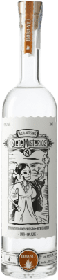 36,95 € Free Shipping | Mezcal Siete Misterios Doba Yej Mexico Bottle 70 cl