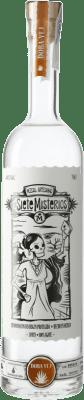36,95 € Kostenloser Versand | Mezcal Siete Misterios Doba Yej Mexiko Flasche 70 cl