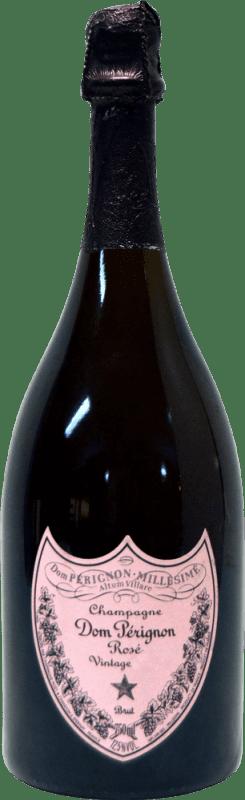 632,95 € Free Shipping | Rosé sparkling Moët & Chandon Dom Pérignon Rosé Jewel 2002 A.O.C. Champagne Champagne France Pinot Black, Chardonnay Bottle 75 cl