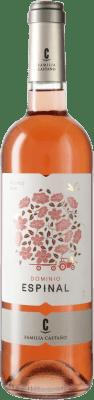 4,95 € Envío gratis | Vino rosado Castaño Dominio de Espinal D.O. Yecla España Monastrell Botella 75 cl