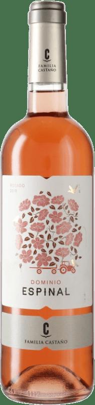 4,95 € Envoi gratuit | Vin rose Castaño Dominio de Espinal D.O. Yecla Espagne Monastrell Bouteille 75 cl