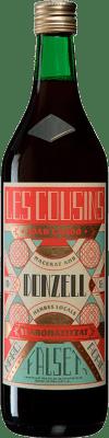9,95 € Envío gratis | Licores Les Cousins Donzell Cataluña España Botella Misil 1 L