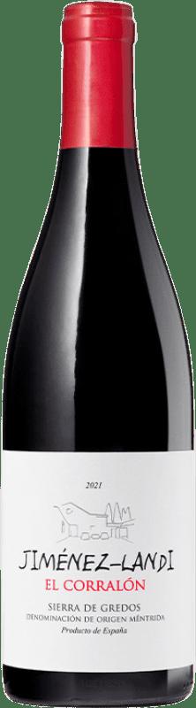 8,95 € Envío gratis | Vino tinto Jiménez-Landi El Corralón D.O. Méntrida España Syrah, Cabernet Sauvignon Botella 75 cl