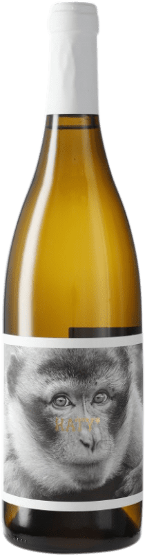 7,95 € Free Shipping | White wine La Vinyeta Els Monos Cati Blanc D.O. Empordà Catalonia Spain Bottle 75 cl